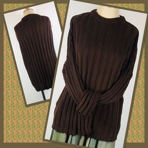 VINTAGE COZY CABLE KNIT SWEATER